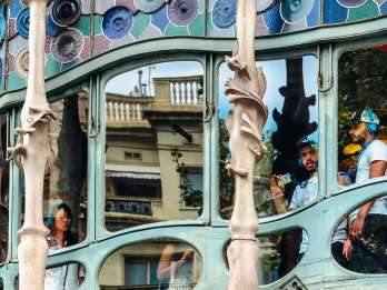 Barcelona: Gaudí-Rundgang