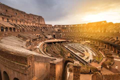Rome: Full Colosseum Experience with Arena Floor