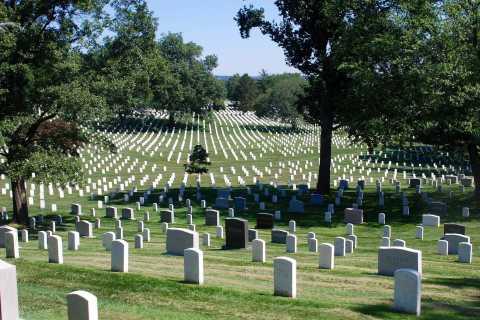 Washington, DC: Arlington Cemetery mit Monument-Tour