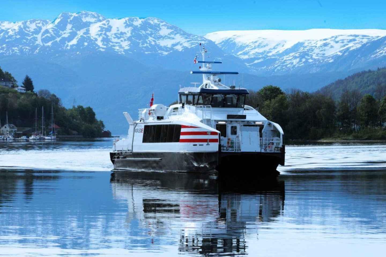 Ab Bergen: Sognefjord mit dem Schnellboot und der Eisenbahn