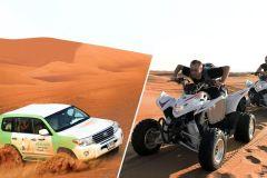 Dubai: Dunas Vermelhas, Quadriciclo, Camelo e Sandboard