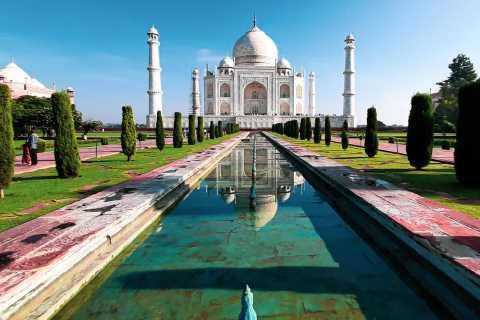 Desde Delhi: recorrido por Agra y Taj Mahal en Gatiman Express