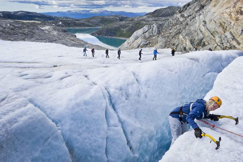 Von Bergen: Hardangerfjord & Folgefonna Gletscherwanderung