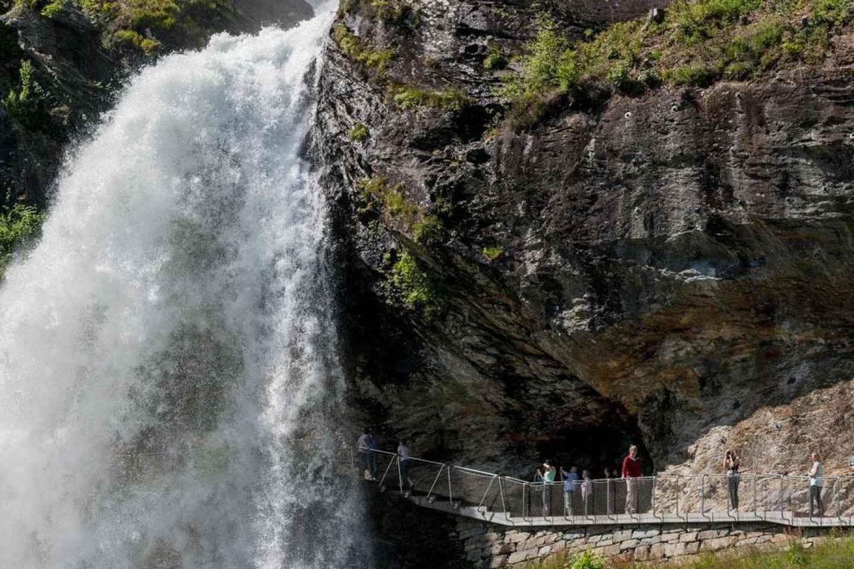 Bergen: Hardangerfjord, Voss-Gondel und 4 große Wasserfälle