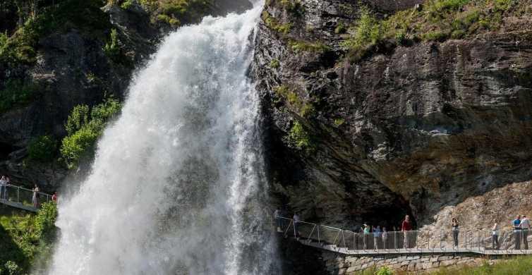 Bergen: Hardangerfjord, Voss-gondel en 4 grote watervallen