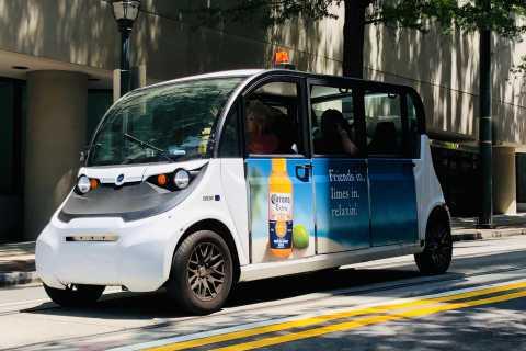 Tour de la ciudad de autos eléctricos de Atlanta