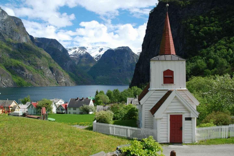 Bergen: Nærøyfjordkreuzfahrt & traditionelles Mittagessen in Undredal