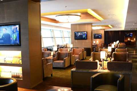 Kuala Lumpur International Airport: Premium Lounge Entry