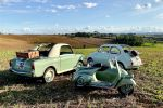 Arezzo and Province: Guided Tour by Driving Vintage Vehicle