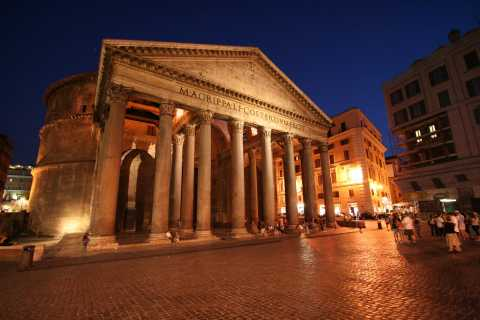 Rome: Combination Colosseum and Evening Walking Tour
