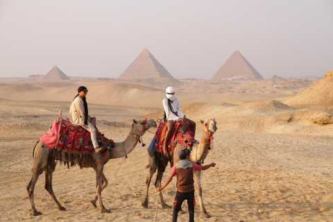 Cairo: Giza Pyramids Tour with Quad Bike Safari & Camel Ride