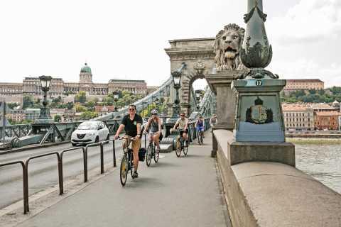 Budapest: Danube River Views Bike Ride