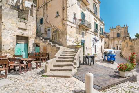 Matera: Panoramische Tuk-Tuk-tour