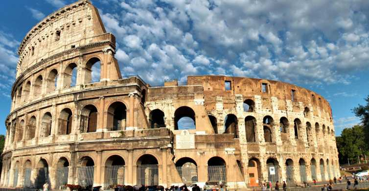 Ancient Rome: Colosseum, Palatine Hill, and Roman Forum