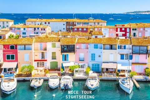 From Nice: Full-Day Tour to Saint-Tropez with Cruise