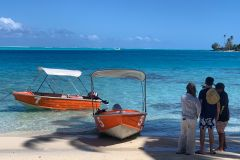 Bora Bora: Quintrex 13 'Aluguer de Barco