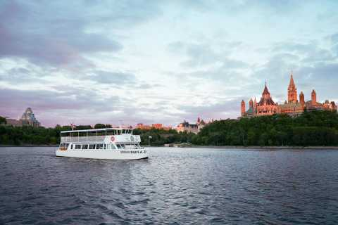 Ottawa: Sightseeing River Cruise