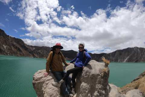 From Quito: Quilotoa Lagoon Full Day Tour