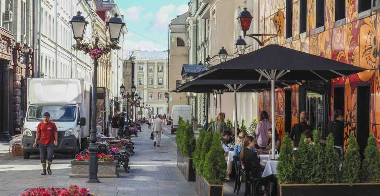 Moscow: Panoramic Moscow Walking Tour