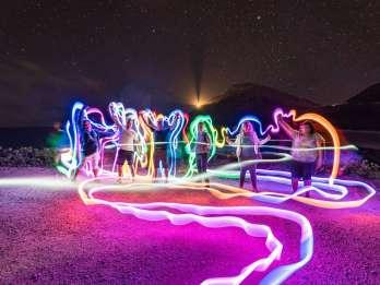 Waikiki: Honolulu Nachthimmel-Foto und Lichtmalerei-Tour