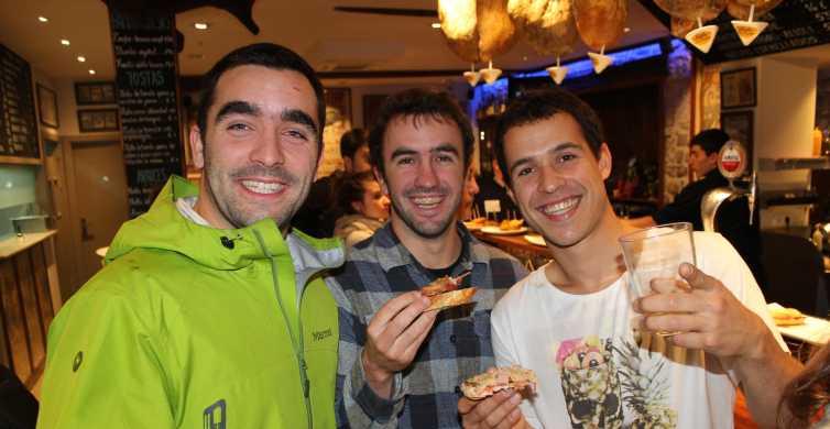 Bilbao: cata de pintxos y vinos españoles en grupo pequeño