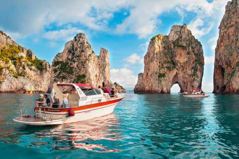 From Sorrento: Capri Island Small-Group Boat Tour