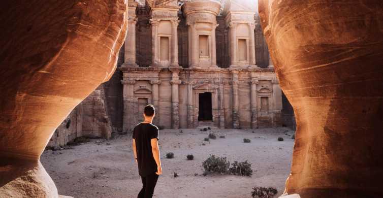 Van Amman: Petra, Wadi Rum, Rode en Dode Zee 2-daagse reis