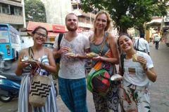 Banglore: rastreamento de comida de rua guiada