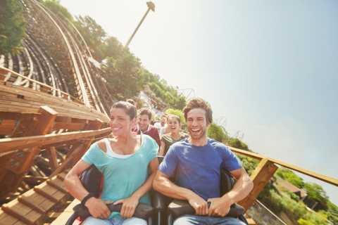 From Barcelona: PortAventura Theme Park Ticket & Transfer