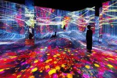 Xangai: equipe do Museu de Arte Digital