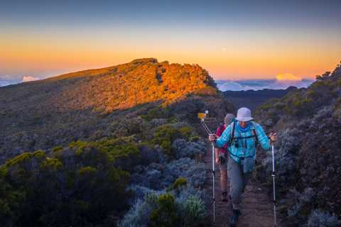 Réunion: Randonnée privée guidée sur le volcan Piton de la Fournaise