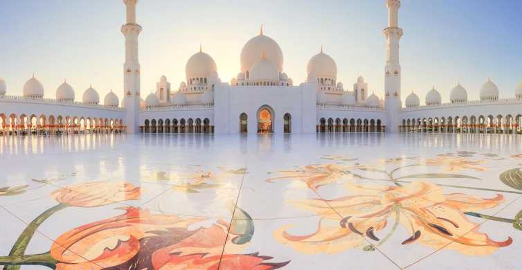 Abu Dhabi: City Tour with Grand Mosque & Royal Palace Visit