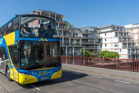 Leipzig: 13 pysäkin Hop-on/Hop-off-bussilippu