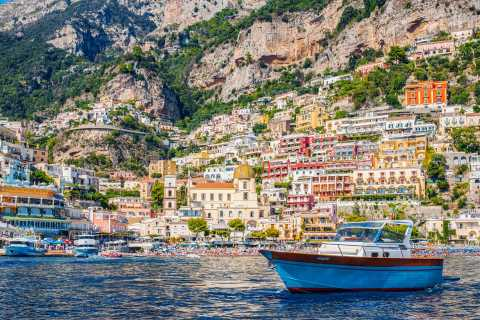 From Sorrento: Amalfi Coast Small-Group Boat Tour