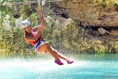 Punta Cana: Passe de acesso total ao Bavaro Adventure Park