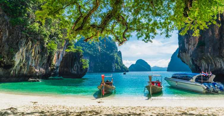 Krabi: Hong Islands Day Trip by Speedboat with Lunch