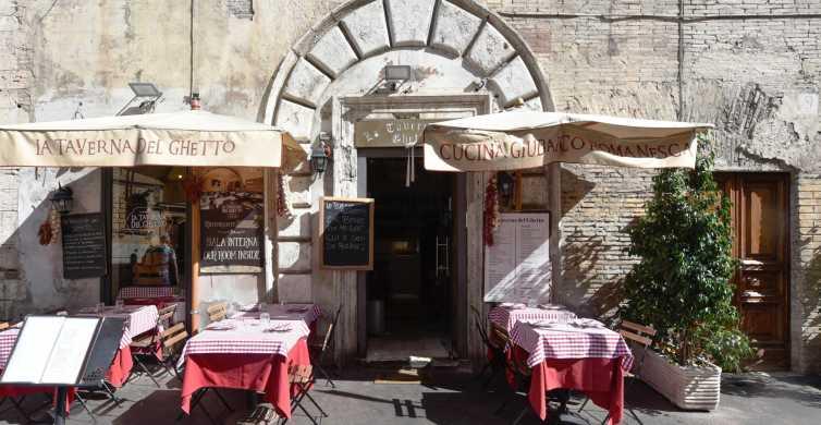 Roma: 1 hora de aula de culinária com macarrão com jantar