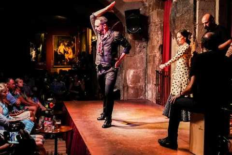 Barcelona: City Tour & Flamenco Show with Wine & Tapas