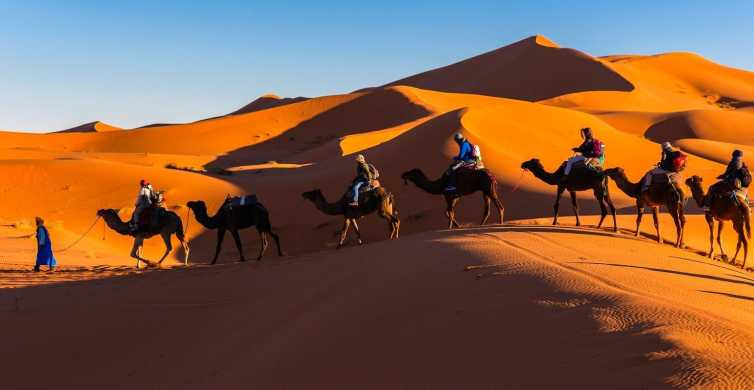 From Marrakech: Private 3-Day Desert Trip to Merzouga