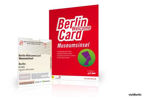 Berlin WelcomeCard: Museum Island & Public Transport