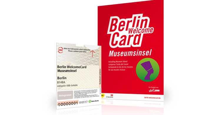 Berlin WelcomeCard: isla de los Museos y transporte público
