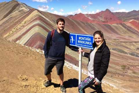 Cusco: Rainbow Mountain and Red Valley Tour with Meals