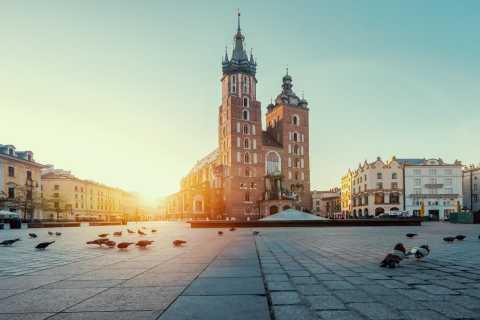 Cracovie: visite à pied de la vieille ville