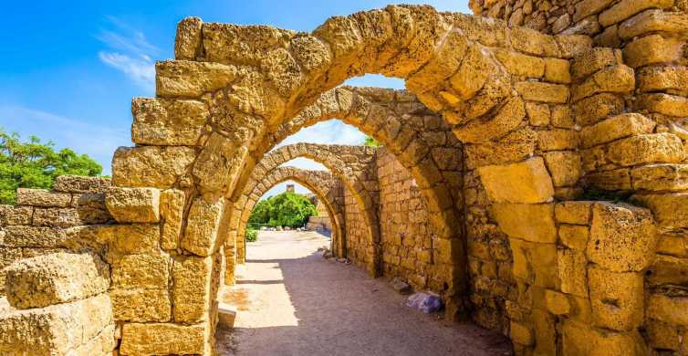 From Jerusalem: Caesarea and Western Galilee Day Trip