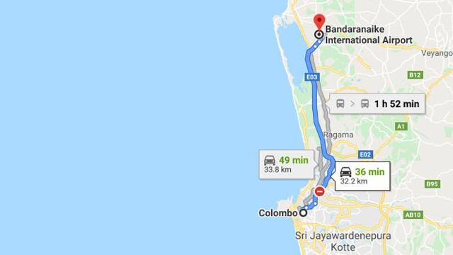 Colombo: Colombo Airport (CMB) en Colombo City Transfer