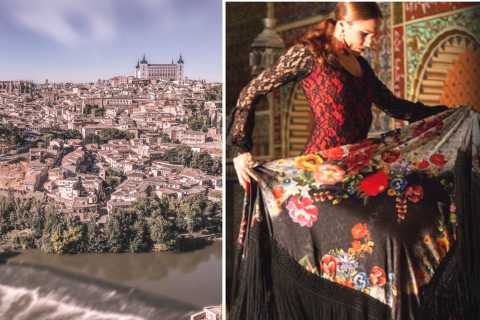 Toledo Tour and Live Flamenco Show in Madrid