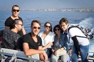 Ab Neapel: Meer & Stadt Sightseeing-Bootsfahrt nach Capri