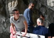 Ab Sorrent: Küstenlinie und Meerblick auf Capri