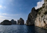 Capri: Bootstour um die Insel und Blaue Grotte