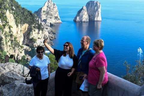 Isola di Capri: tour guidato di Capri e Anacapri